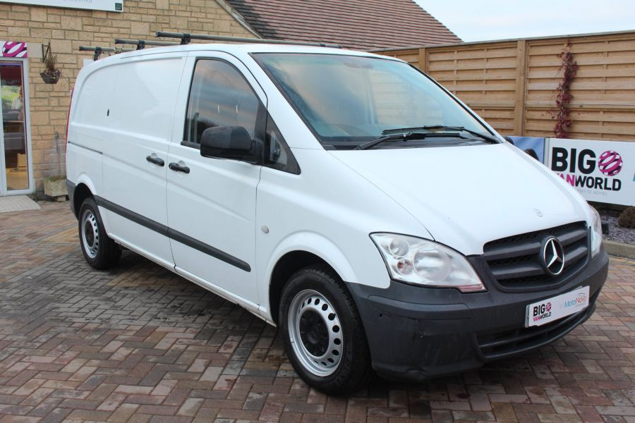 MERCEDES VITO 113 CDI 136 COMPACT SWB LOW ROOF - 7100 - 3