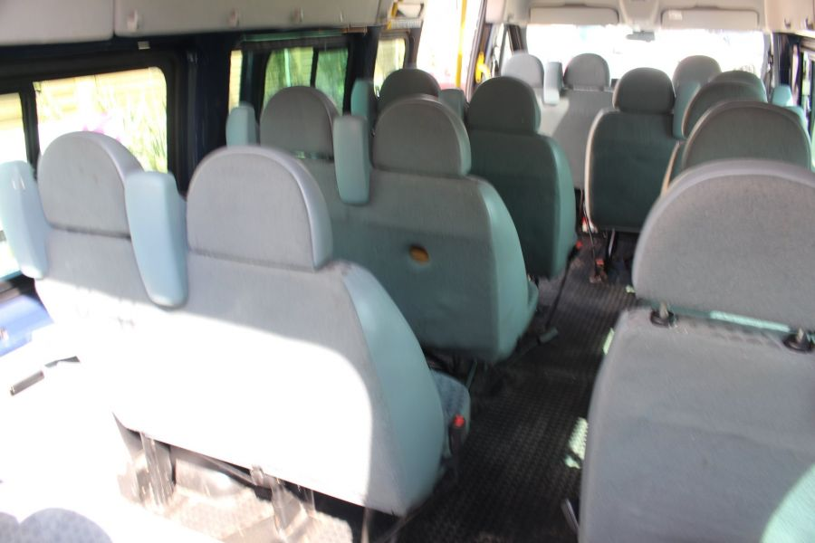 FORD TRANSIT 430 TDCI 135 LWB HIGH ROOF 17 SEATS BUS - 6332 - 29