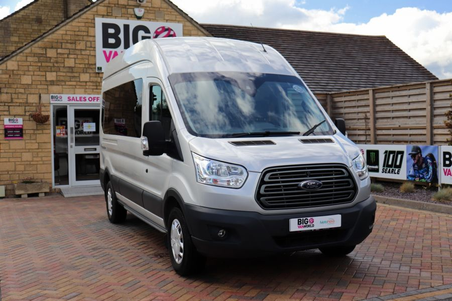 FORD TRANSIT 410 TDCI 155 L3 H3 TREND 15 SEAT BUS LWB HIGH ROOF RWD - 9126 - 4