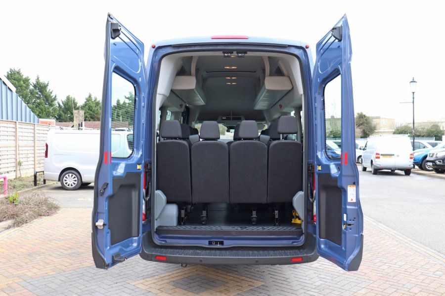 FORD TRANSIT 460 TDCI 155 L4H3 17 SEAT BUS HIGH ROOF DRW RWD - 10252 - 43
