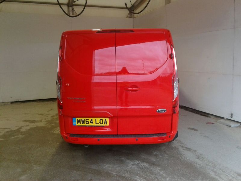 FORD TRANSIT CUSTOM 290 TDCI 125 L1H1 LIMITED SWB LOW ROOF FWD - 10096 - 3