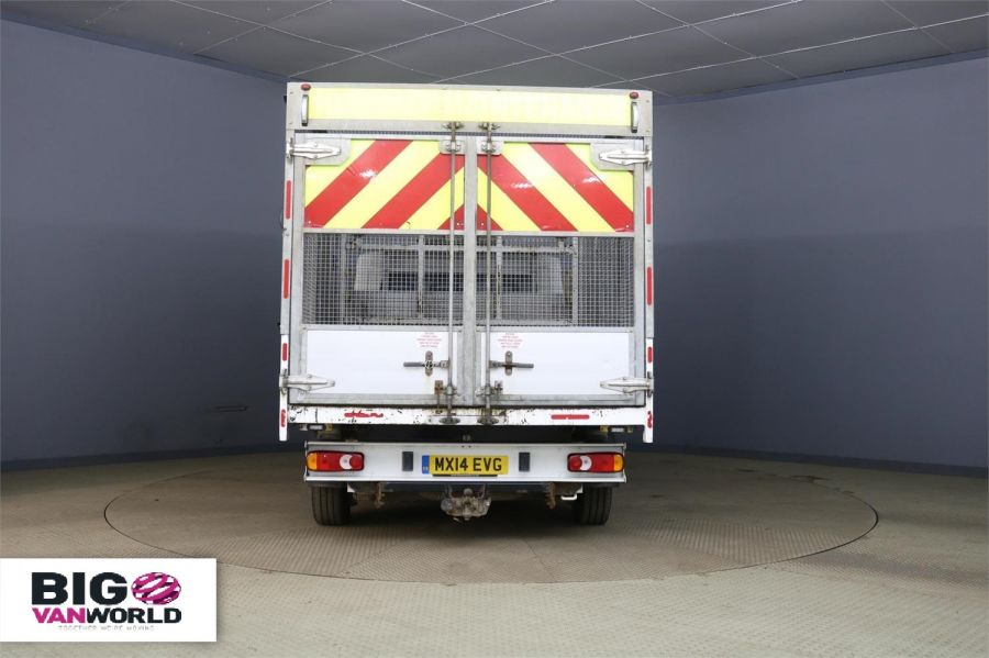 PEUGEOT BOXER 335 HDI 130 L2 MWB ALLOY TIPPER WITH STEEL CAGE - 9530 - 3