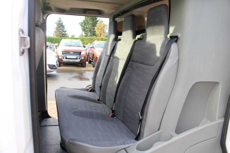 RENAULT TRAFIC LL29 DCI 115 L2 H1 DOUBLE CAB LWB CREW VAN - 6787 - 19