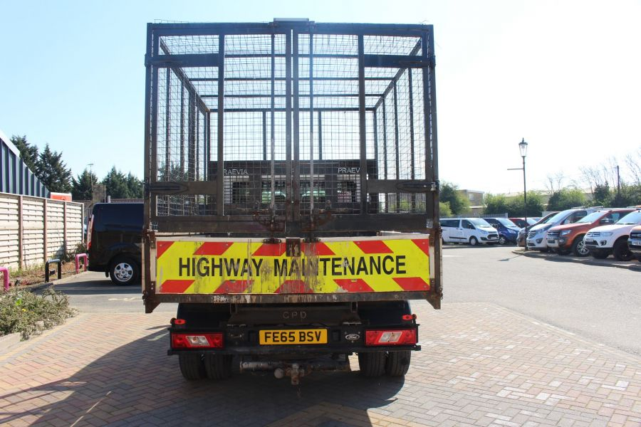 FORD TRANSIT 350 TDCI 125 L3 LWB 7 SEAT DOUBLE CAB 'ONE STOP' ALLOY TIPPER WITH STEEL CAGE DRW RWD - 9150 - 18