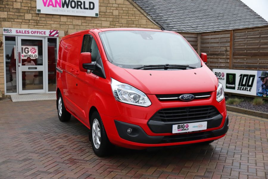 FORD TRANSIT CUSTOM 290 TDCI 125 L1H1 LIMITED SWB LOW ROOF FWD - 11904 - 6