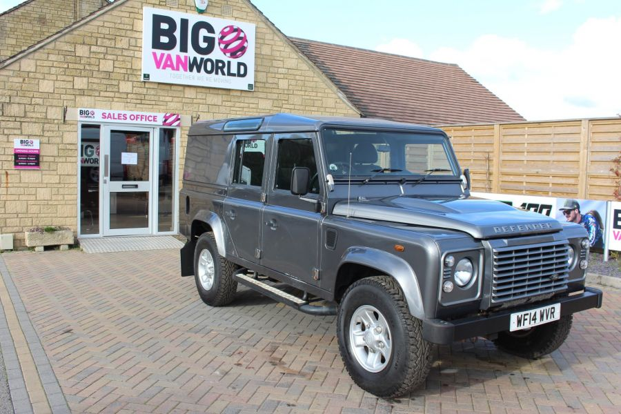 LAND ROVER DEFENDER 110 TD XS UTILITY WAGON 5 SEAT DOUBLE CAB - 8382 - 3