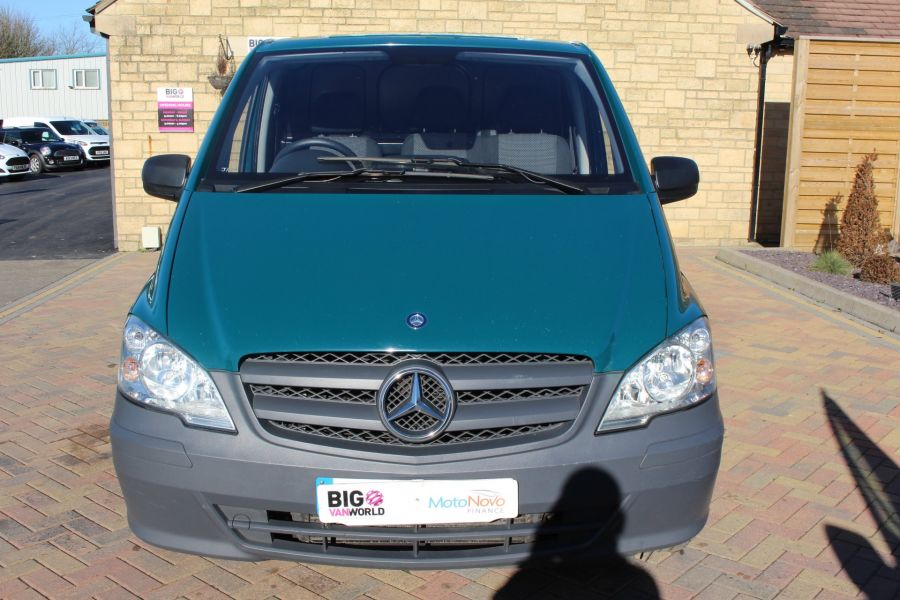 MERCEDES VITO 113 CDI 136 BLUEEFFICIENCY LWB LOW ROOF AUTO - 7315 - 9