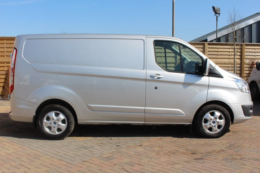 FORD TRANSIT CUSTOM 290 TDCI 170 L1 H1 LIMITED SWB LOW ROOF FWD  VERY RARE - 7563 - 4