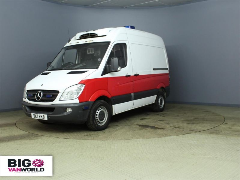 MERCEDES SPRINTER 313 CDI MWB HIGH ROOF FRIDGE WITH OVERNIGHT - 7388 - 5