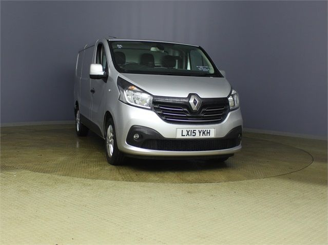 RENAULT TRAFIC SL27 DCI 120 SPORT ENERGY SWB LOW ROOF - 7629 - 1