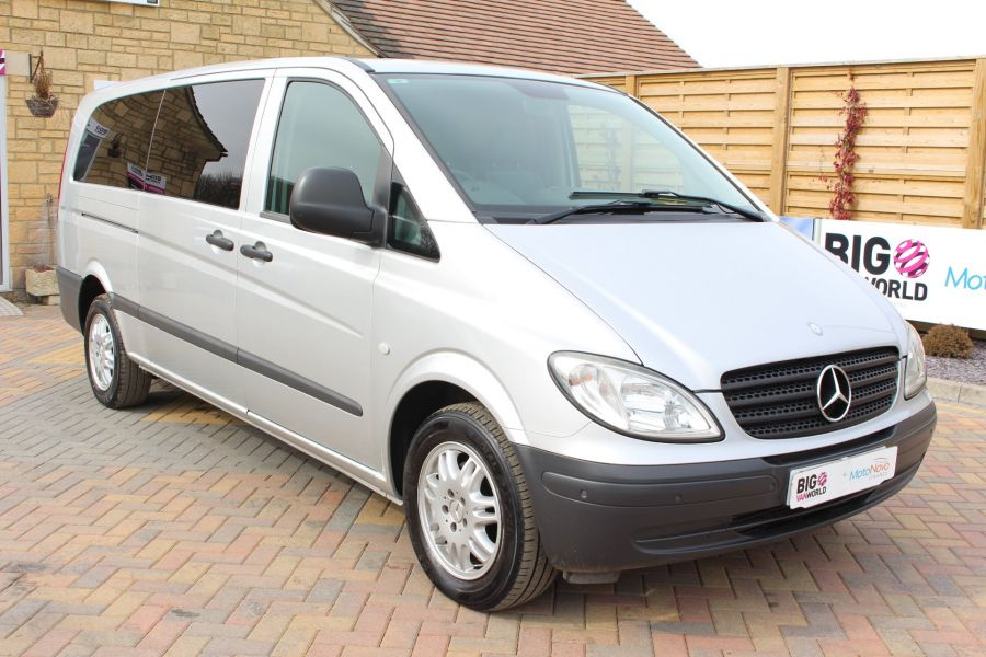 MERCEDES VITO 115 CDI EXTRA LONG 9 SEAT TRAVELINER - 7582 - 1