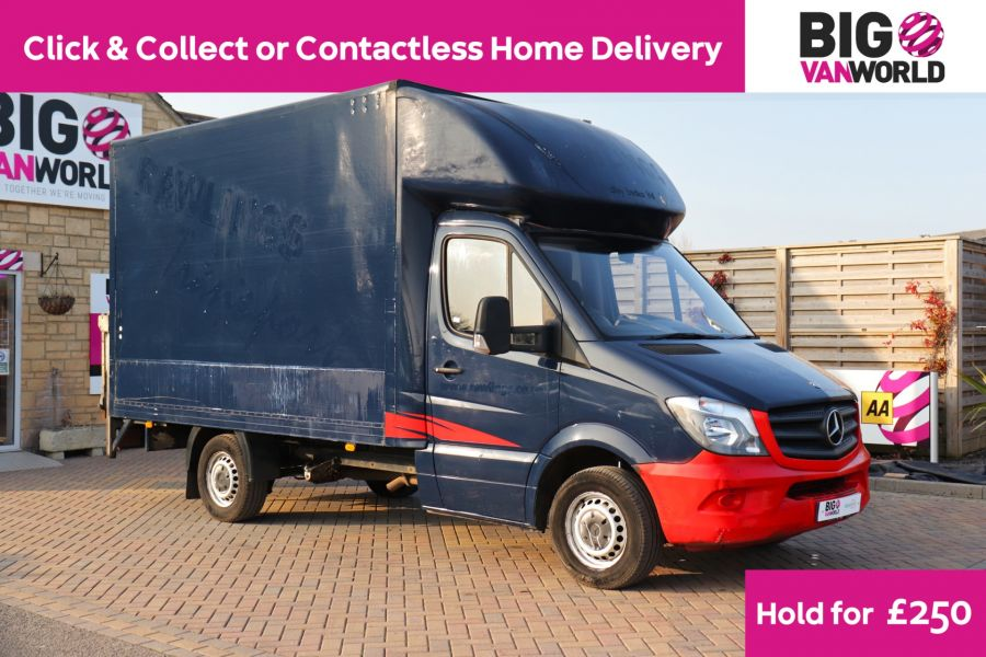 MERCEDES SPRINTER 313 CDI 129 MWB LUTON WITH TAIL LIFT - 12154 - 1