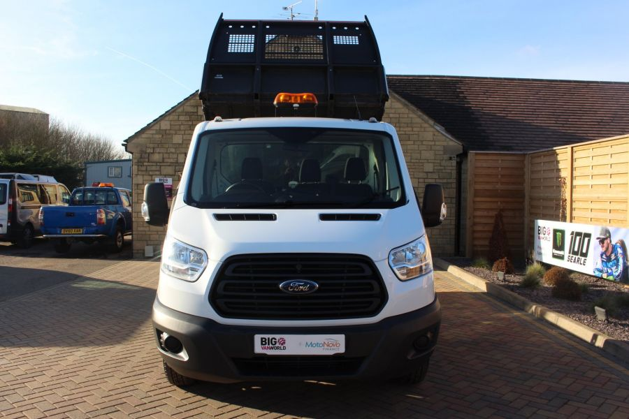 FORD TRANSIT 350 TDCI 125 SINGLE CAB 'ONE STOP' ALLOY TIPPER DRW - 7213 - 8