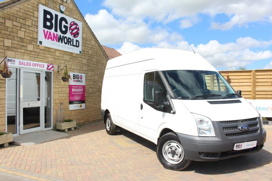 FORD TRANSIT 350 TDCI 125 LWB HIGH ROOF FWD - 6614 - 1