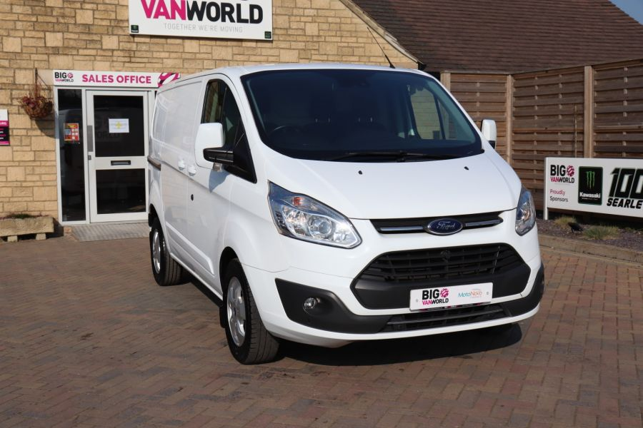 FORD TRANSIT CUSTOM 340 TDCI 130 L1H1 LIMITED SWB LOW ROOF FWD - 10566 - 4