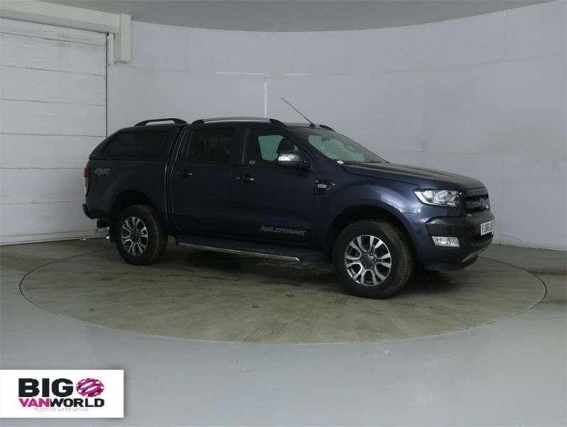 FORD RANGER WILDTRAK TDCI 200 4X4 DOUBLE CAB WITH TRUCKMAN TOP - 8963 - 3