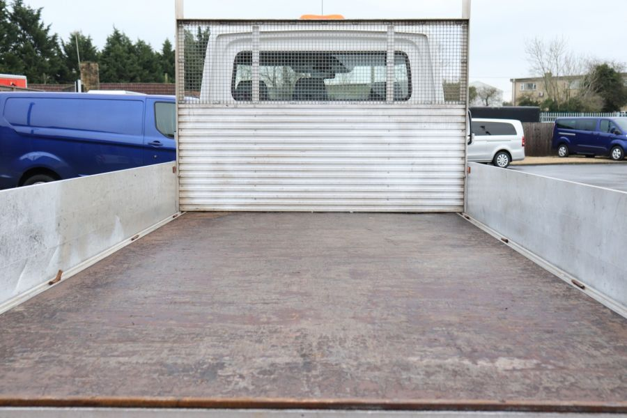 VOLKSWAGEN CRAFTER CR35 TDI 140 BMT LWB SINGLE CAB ALLOY DROPSIDE - 12073 - 34