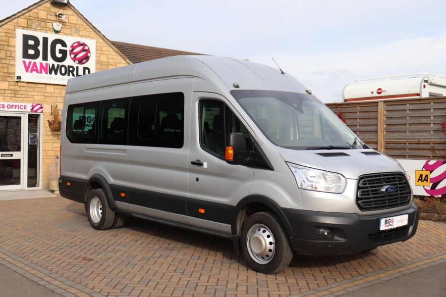 FORD TRANSIT 460 TDCI 155 L4H3 TREND 17 SEAT BUS HIGH ROOF DRW RWD - 10415 - 3