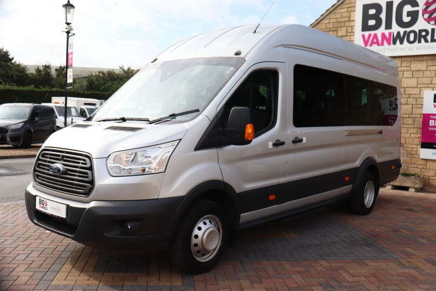 FORD TRANSIT 460 TDCI 155 L4H3 TREND 17 SEAT BUS HIGH ROOF DRW RWD - 9897 - 8