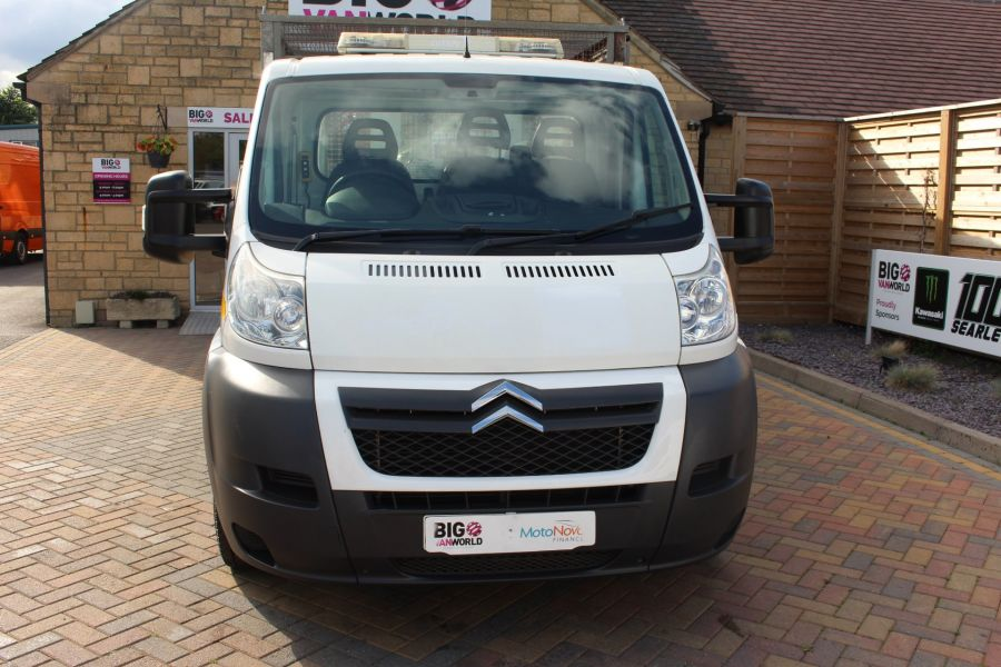 CITROEN RELAY 35 HDI 130 L3 LWB ALLOY TIPPER WITH CAGED - 8122 - 18