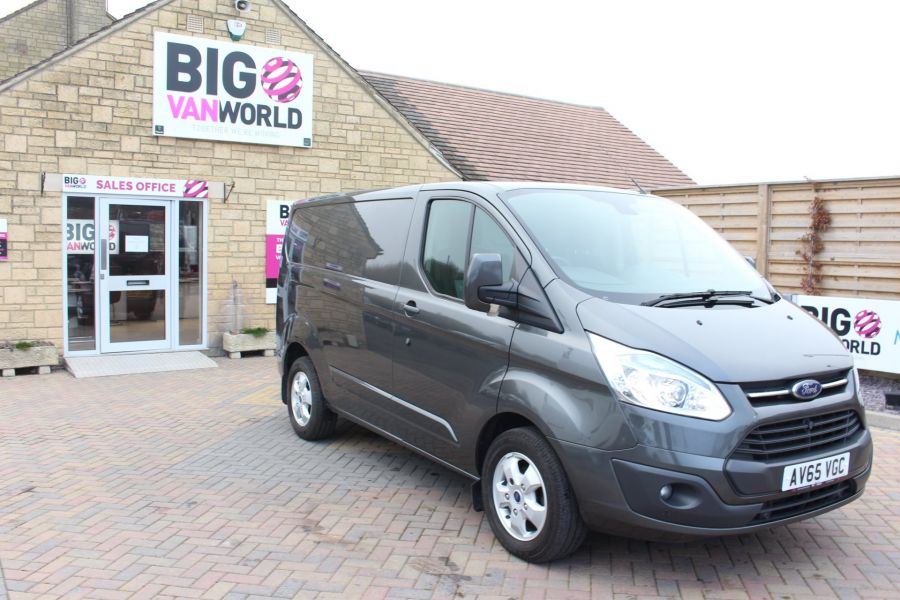 FORD TRANSIT CUSTOM 270 TDCI 125 L1 H1 LIMITED SWB LOW ROOF - 8050 - 3