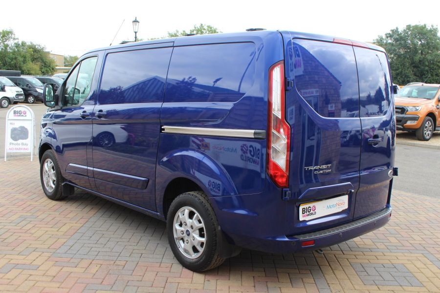 FORD TRANSIT CUSTOM 270 TDCI 155 LIMITED L1 H1 SWB LOW ROOF FWD - 6586 - 7