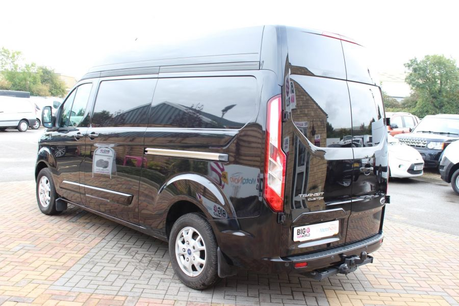 FORD TRANSIT CUSTOM 290 TDCI 155 L2 H2 LIMITED LWB HIGH ROOF FWD - 6755 - 7