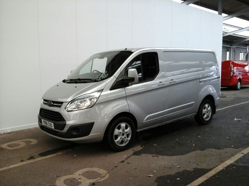 FORD TRANSIT CUSTOM 270 TDCI 125 L1 H1 LIMITED SWB LOW ROOF FWD - 9222 - 1