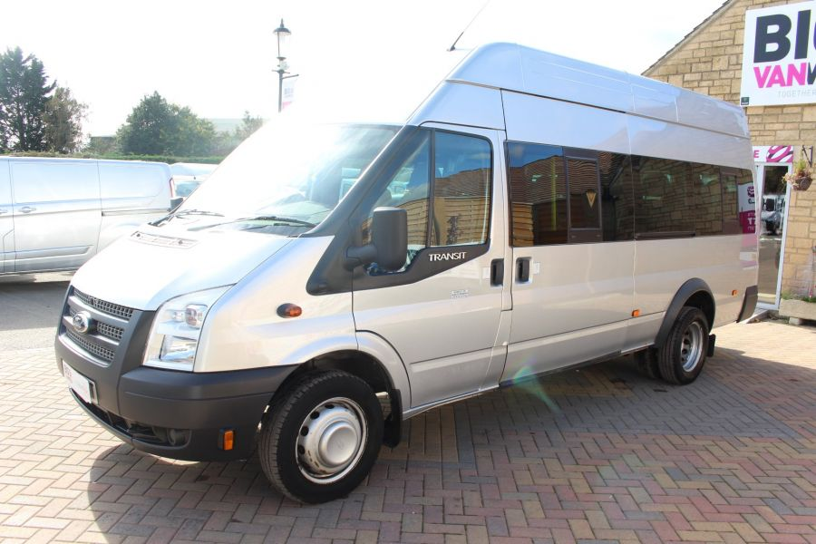 FORD TRANSIT 430 TDCI 135 LWB EL HIGH ROOF 17 SEATS BUS RWD - 6765 - 7