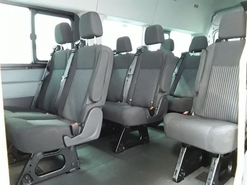 FORD TRANSIT 460 TDCI 155 L4H3 TREND 17 SEAT BUS HIGH ROOF DRW RWD - 11442 - 12