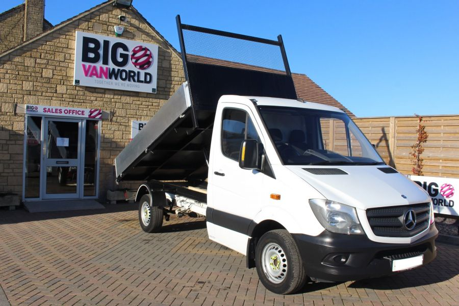 MERCEDES SPRINTER 313 CDI MWB SINGLE CAB NEW BUILD ALLOY TIPPER - 8729 - 1
