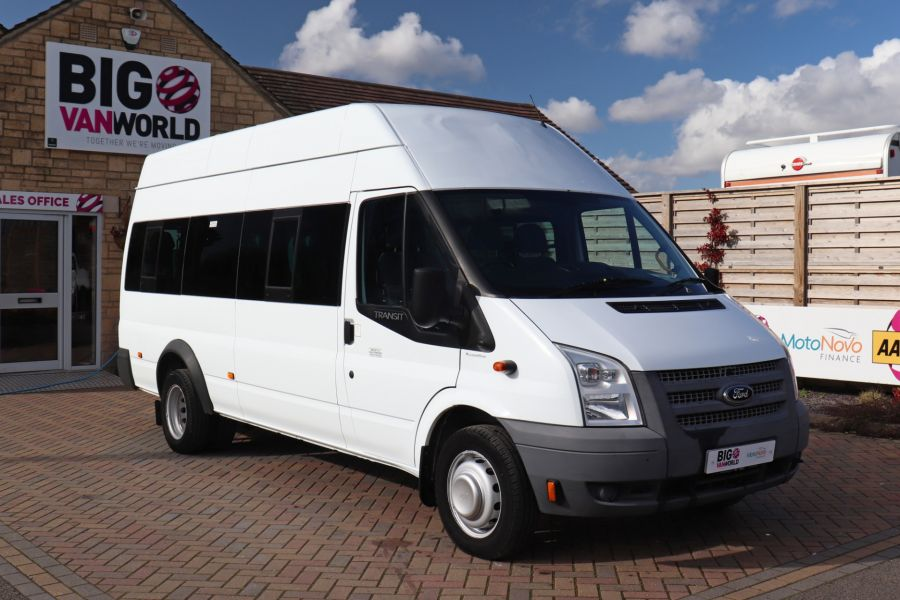 FORD TRANSIT 430 TDCI 135 EL LWB 17 SEAT BUS HIGH ROOF WITH WHEELCHAIR ACCESS RAMP DRW RWD - 10401 - 3
