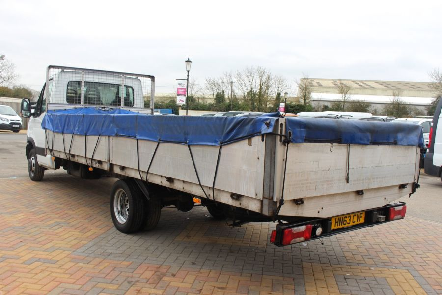 IVECO DAILY 35C13 4100 WB XLWB 20FT ALLOY DROPSIDE - 7302 - 7