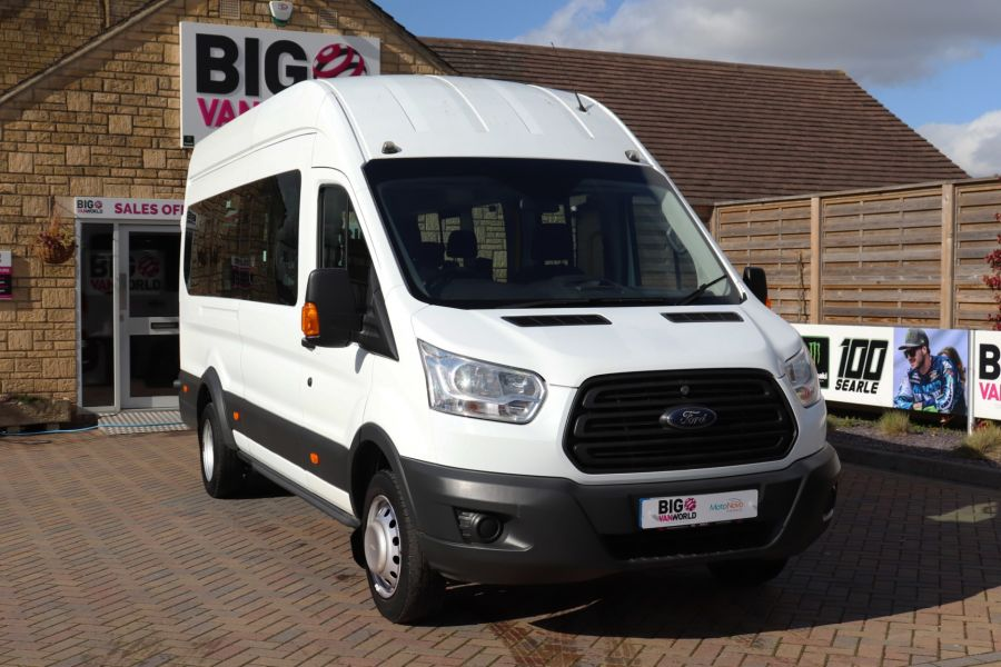 FORD TRANSIT 460 TDCI 125 L4H3 17 SEAT BUS HIGH ROOF DRW RWD - 10341 - 4