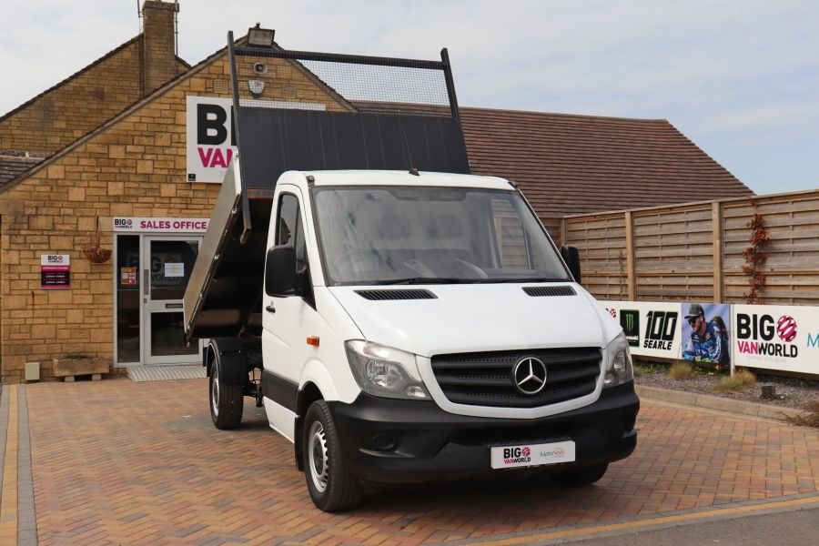 MERCEDES SPRINTER 313 CDI 129 MWB SINGLE CAB NEW BUILD ALLOY TIPPER - 11018 - 14