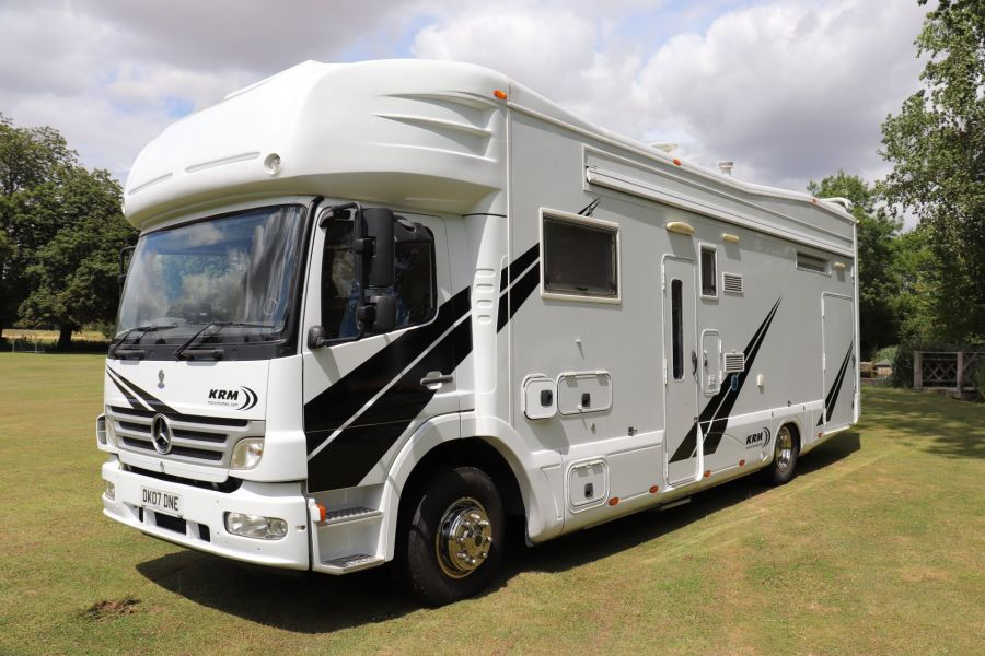 MERCEDES KRM MB1628 32FT 6 BERTH MOTORHOME / SPORTHOME  - 9783 - 9