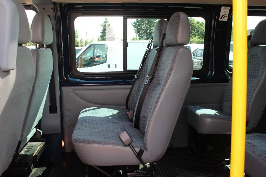FORD TRANSIT 430 TDCI 135 LWB HIGH ROOF 17 SEATS BUS - 6332 - 19
