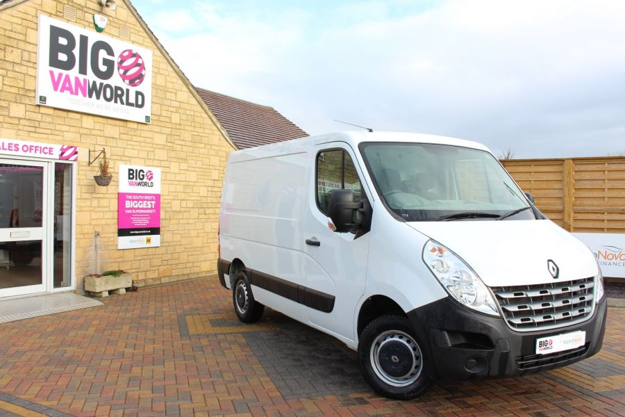 RENAULT MASTER SL33 DCI 100 SWB LOW ROOF FWD - 7248 - 2