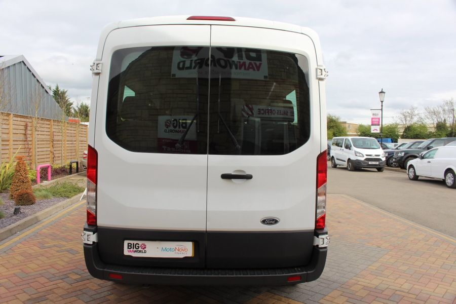 FORD TRANSIT 410 TDCI 125 L3 H2 15 SEAT BUS LWB MEDIUM ROOF - 6975 - 6