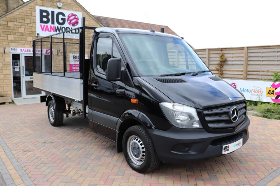MERCEDES SPRINTER 313 CDI 129 MWD SINGLE CAB NEW BUILD ALLOY CAGED TIPPER - 10235 - 3