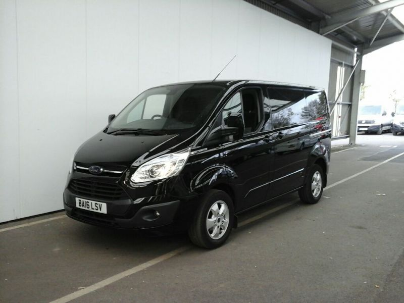 FORD TRANSIT CUSTOM 290 TDCI 155 L1 H1 LIMITED SWB LOW ROOF FWD - 8500 - 1