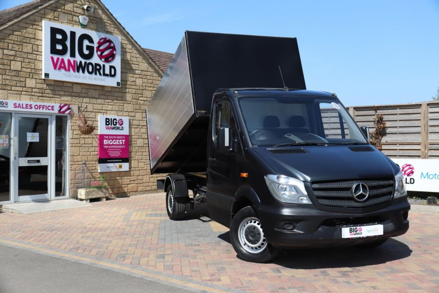 MERCEDES SPRINTER 313 CDI 129 SINGLE CAB NEW BUILD HIGH SIDED ALLOY TIPPER - 9672 - 1