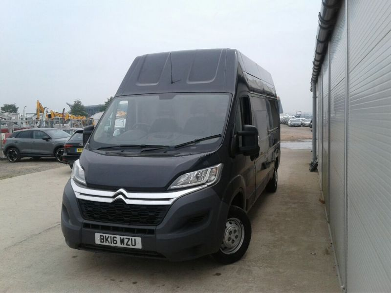 CITROEN RELAY 35 HDI 130 L3H3 ENTERPRISE LWB HIGH ROOF - 9654 - 1