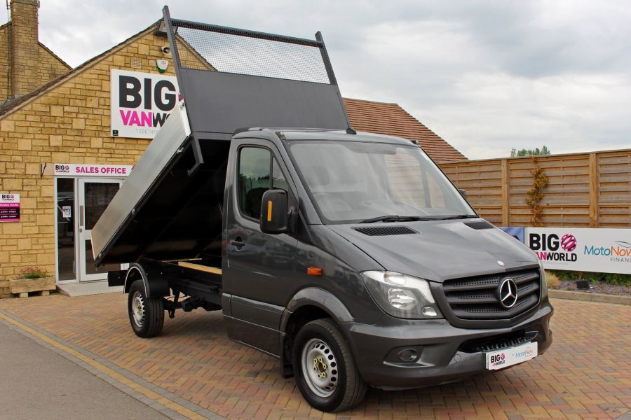 MERCEDES SPRINTER 313 CDI 129 MWB SINGLE CAB NEW BUILD ALLOY TIPPER - 9592 - 2