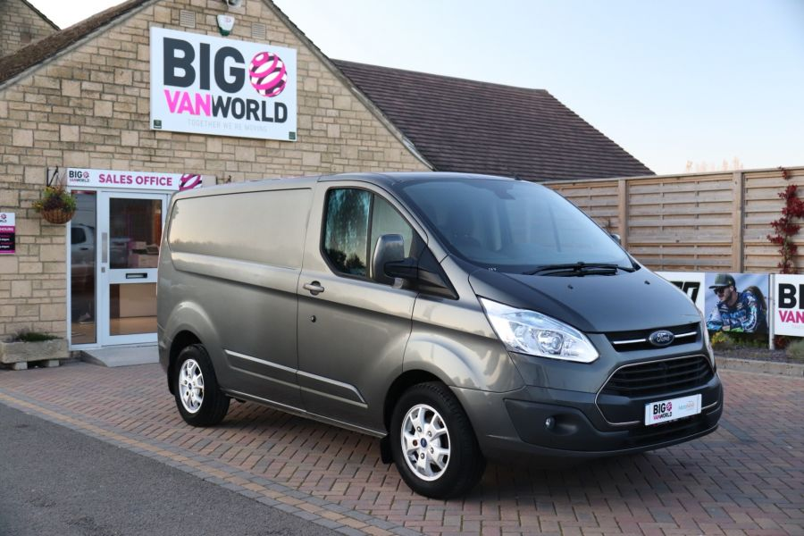FORD TRANSIT CUSTOM 310 TDCI 155 L1H1 LIMITED SWB LOW ROOF FWD - 9827 - 2