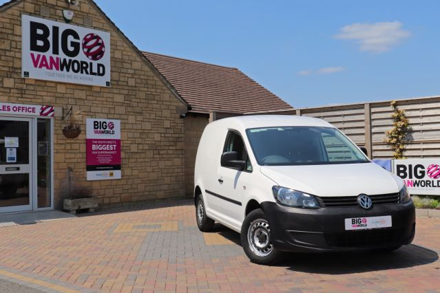 Used VOLKSWAGEN CADDY in Used Vans Swindon for sale