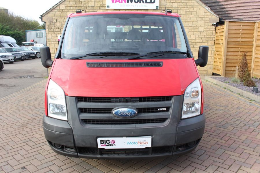 FORD TRANSIT 300 TDCI 110 SWB ALLOY DROPSIDE - 7031 - 9