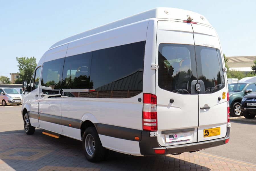 MERCEDES SPRINTER 513 CDI 129 XLWB EXTRA HIGH ROOF 15 SEAT BUS WITH WHEELCHAIR ACCESS - 9801 - 8