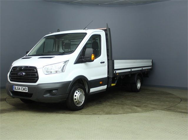 FORD TRANSIT 350 TDCI 125 DRW L4 SINGLE CAB 'ONE STOP' ALLOY DROPSIDE - 7187 - 6