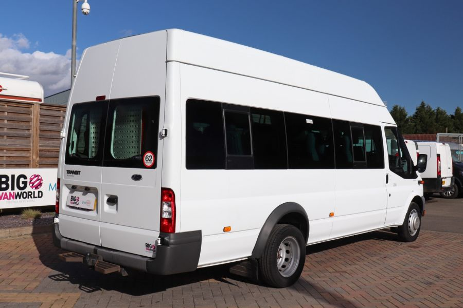 FORD TRANSIT 430 TDCI 135 EL LWB 17 SEAT BUS HIGH ROOF WITH WHEELCHAIR ACCESS RAMP DRW RWD - 10401 - 6